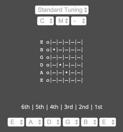 Chordcaptor Guitar Chord Finder Program