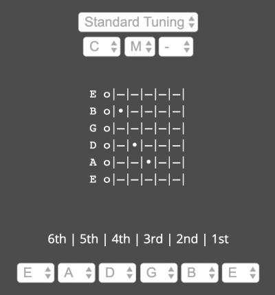Chordcaptor Guitar Chord Finder Program